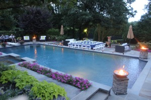 Angelic Delights Catering - Pool Setting